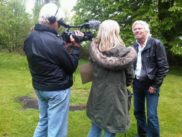 ADC_Interviewing Richard Branson